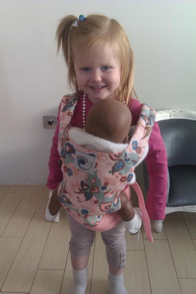 Ergo Baby Carrier For Dolls Her Ergo Baby Doll Carrier