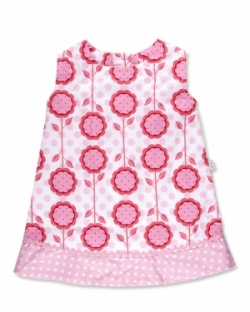 Vintage Kid Mod Blooms Dress