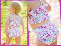 RuffleButts - Bold Burts Swimwear