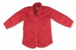 Vintage Kid- Red Blouse