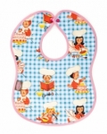 Vintage Kid - Let's Bake Bib in pink