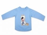 Vintage Kid - Lil Cowpokes Long Sleeve T In blue