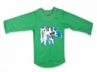 Vintage Kid - Green Elephant Long Sleeve Top