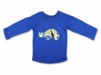 Vintage Kid - Blue Tortoise Long Sleeve Top
