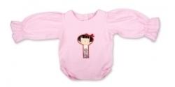Vintage Kid - Yui Kosheshi Doll Long Sleeve Top Light Pink
