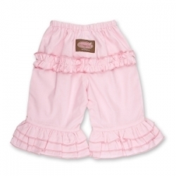 Vintage Kid - Light Pink Long Ruffle Pants