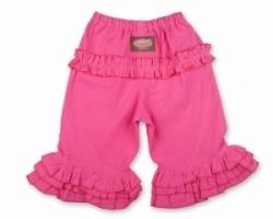 Vintage Kid - Pink long Ruffle Pants