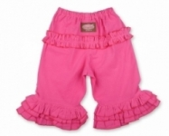 Vintage Kid - Pink long Ruffle Pants