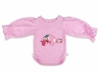 Vintage Kid - Pink Tortoise Long Sleeve Top
