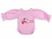 Vintage Kid - Pink Tortoise Long Sleeve Top