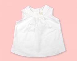 Vintage Kid - White Swing Top