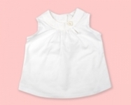 Vintage Kid - White Swing Top