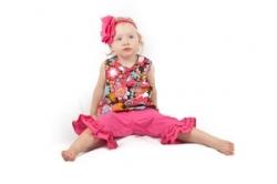 Vintage Kid - Peace Flower Swing Top