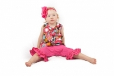 Vintage Kid - Peace Flower Swing Top
