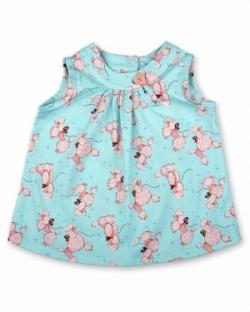 Vintage Kid - Pink Poodles Swing Top