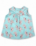 Vintage Kid - Pink Poodles Swing Top