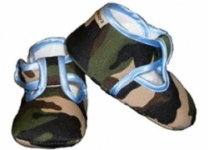 Baby Bella Maya - Camo Blue Boys Shoes