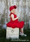 Kireisui - Premium Red Pettiskirt  8-10 yrs or adult