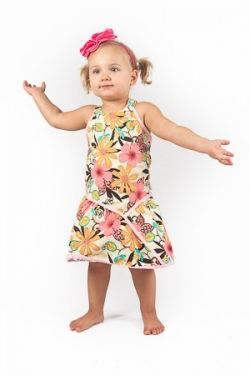 Vintage Kid - Charm Halter Neck Dress