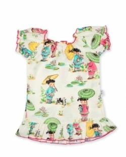 Vintage Kid - China Doll Mini Party Dress