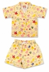 Vintage Kid - Yellow Paper Doll Pyjamas