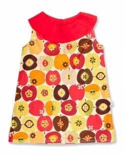 Vintage Kid - Vintage Apple Yoke Dress