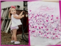 RuffleButts - Bloomer Woven heart ruffles size 2 left!