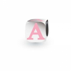 My Little Angel - Pink Letter A
