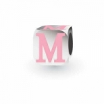 My Little Angel - Pink Letter M