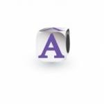 My Little Angel - Purple Letter A