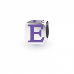My Little Angel - Purple Letter E