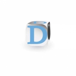 My Little Angel - Blue Letter D