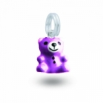 My Little Angel - Purple Bear Charm