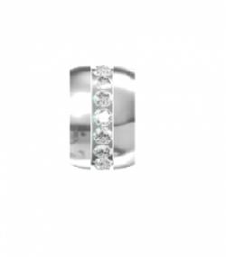 My Little Angel -  Eternity Birthstone Wheel April Diamond