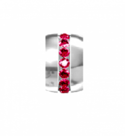 My Little Angel -  Eternity Birthstone Wheel July Ruby