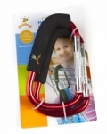 Goldbug - Snap on Clip double pack in RED
