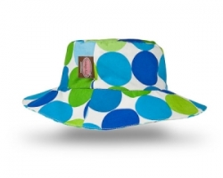 Vintage Kid - Blue Disco Dot Hat