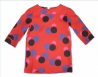 Monte & Tex -Red Bubbles Mod Dress size 2 left!