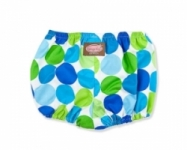 Vintage Kid - Blue Disco Dot Nappy Cover