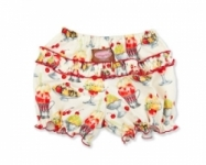 Vintage Kid - Ice Cream Sundaes Ruffle Pants