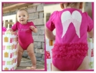 RuffleButt One-Piece - Fuchsia So Blessed
