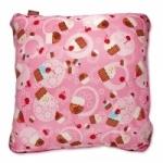 Vintage Kid - Pink Cupcakes Pillow