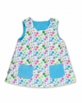 Vintage Kid - Birdy Fully Reversible Pinafore