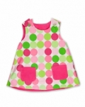 Vintage Kid - Disco Dot Fully Reversible Pinafore