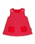 Vintage Kid - Red Dot Fully Reversible Pinafore