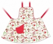 Vintage Kid - Full Apron 50's Kitchen