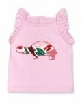 Vintage Kid - Tortoise Singlet in Pink