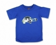 Vintage Kid - Blue Tortoise T shirt