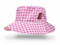 Vintage Kid - Pink Gigham Hat