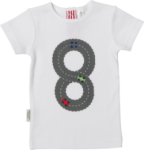 Sooki Baby - Fast Cars White Tee size 000 left!
